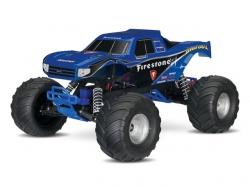 Traxxas Bigfoot 2WD Blau RTR 1:10 Monster Truck (mit Akku/..