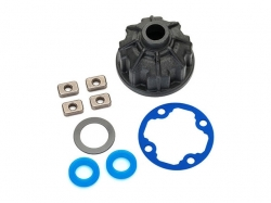 Traxxas 8681 Carrier, differential (heavy duty)/ x-ring ga..