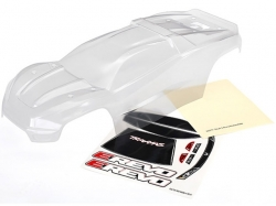 Traxxas 8611 Body, E-Revo® (clear, requires painting)/ win..