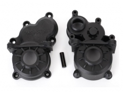 Traxxas 8691 Gearbox halves (front & rear)/ idler gear shaft