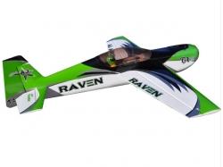 "AJ Aircraft Raven 92"" 2.33m Grün/Weiss/Schwarz ARF Straigh.."