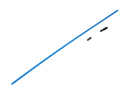 Traxxas 1726 Antenna, tube (1)/ vinyl antenna cap (1)/ wire retainer (1)