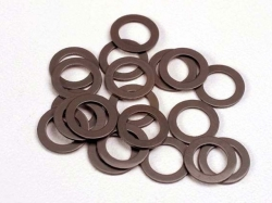 Traxxas 1985 PTFE-coated washers, 5x8x0.5mm (20) (use with ball bearings)