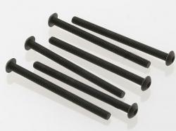 Traxxas 2592 Screws, 3x40mm button-head machine (hex drive) (6)