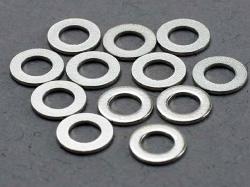 Traxxas 2746 Washers, 3x6mm metal (12)