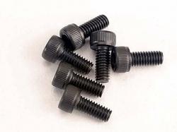 Traxxas 3215 Screws, 2.5x6mm cap-head machine (hex drive) (6)