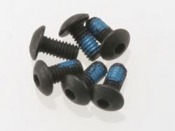 Traxxas 3347 Screws, 2.5x5mm button-head machine (hex drive) (6)