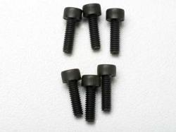 Traxxas 3965 Screws, 2.5x8mm cap-head machine (6)