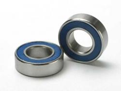 Traxxas 5118 Ball bearings, blue rubber sealed (8x16x5mm) (2)
