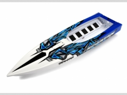 Traxxas 5718 Hull, Spartan, blue graphics (fully a ssembled)