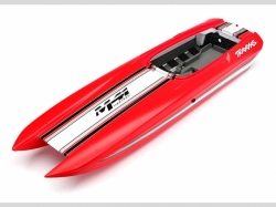 Traxxas 5770 Hull, DCB M41, red (fully assembled)