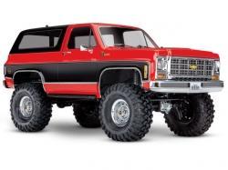Traxxas TRX-4 K5 Chevy Blazer Rot 4x4 ARTR 1:10 (ohne Akku..
