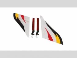 F-27Q Vertical Fin/Rudder Set