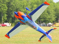 "EXTREMEFLIGHT-RC EXTRA 300 104"" BLAU/ORANGE ARF"
