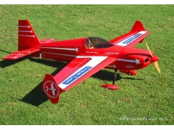 "EXTREMEFLIGHT-RC LASER 60"" V2 ROT/WEISS ARF"
