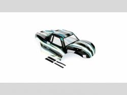 Losi LOS250013 MTXL Karosserie lackiert schwarz