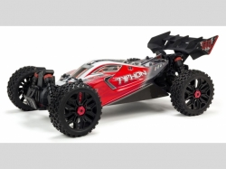 Arrma BUGGY TYPHON BLX3S 1:8 4WD EP RTR RED BRUSHLESS OHNE..