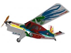 Hacker Pilatus Turbo Porter XF Fredi ARF - 89 cm Indoor Fl..