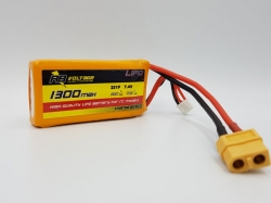 RB Voltage 1300mAh 2S 35C XH/XT60 LiPo-Akku