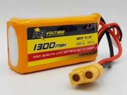 RB Voltage 1300mAh 3S 35C XH/XT60 LiPo-Akku