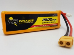 RB Voltage 2200mAh 2S 35C XH/XT60 LiPo-Akku