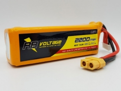 RB Voltage 2200mAh 4S 35C XH/XT60 LiPo-Akku