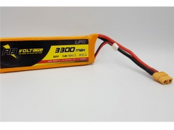 RB Voltage 3300mAh 2S 25C XH/XT60 LiPo-Akku