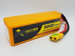 RB Voltage 5200mAh 6S 35C XH/XT90 LiPo-Akku