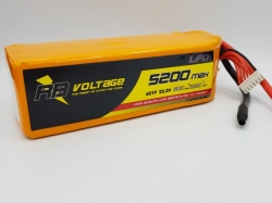 RB Voltage 5200mAh 6S 50C XH/– LiPo-Akku