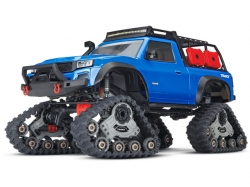 Traxxas TRX4 Sport mit TRAXX-Raupen Blau 1:10 4WD ARTR, RC..