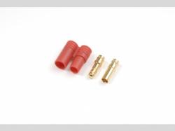 3.5mm Goldstecker mit Gehäuse 4x