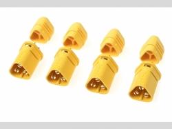 Connector - MT-30 3-Polig - Goldkonta kten - Buchse - 4 St