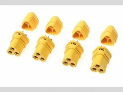 Connector - MT-30 3-Polig - Goldkonta kten - Stecker - 4 St