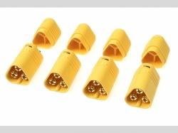 Connector - MT-60 3-Polig - Goldkonta kten - Buchse - 4 St