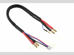 Lade- / Balancer-Kabel 4mm Bullit Ste cker 2S - Lader 2S X..