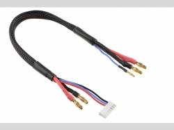 Lade- / Balancer-Kabel 4mm Bullit Ste cker 2S - Lader 6S X..