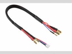 Lade- / Balancer-Kabel 5mm Bullit Ste cker 2S - Lader 2S X..