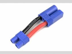 Power Adapterkabel - EC-3 Buchse  EC-5 Stecker - 12AWG Sil..
