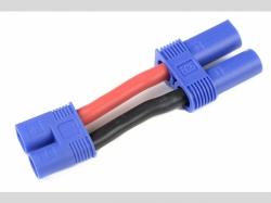 Power Adapterkabel - EC-3 Stecker  EC-5 Buchse - 12AWG Sil..