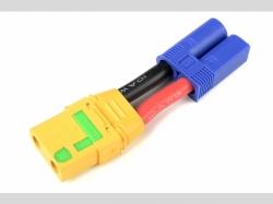 Power Adapterkabel - EC-5 Stecker  XT-90 AS