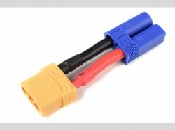 Power Adapterkabel - EC-5 Stecker  XT-90 Buchse - 10AWG Si..