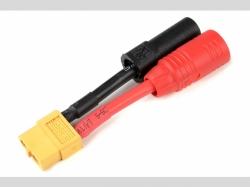 Power Adapterkabel - XT-60 Buchse  AS-150 + XT-150 Stecker..