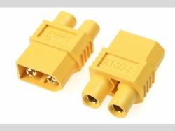 Power Adapter-Stecker - XT-60 Stecker  EC-3 Stecker - 2 St