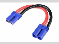 Power Verlängerungskabel - EC-5 - 10A WG Silikon Kabel - 1..