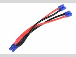 Power V-Kabel - Parallel - EC-2 - 14A WG Silikon Kabel - 1..