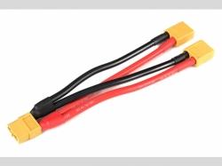 Power V-Kabel - Parallel - XT-60 - 12 AWG Silikon Kabel - ..