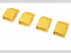 Steckverbinder XT-60PT Buchse 4x