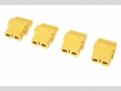 Steckverbinder XT-60PT Stecker 4x