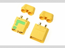 Steckverbinder XT-90Sm/Kappe S+B 2P