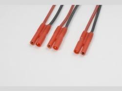 V-Kabel Paral. 2mm gold 20AWG 1x